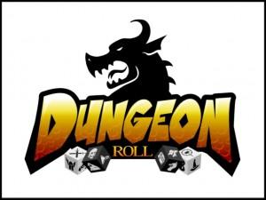 Dungeon Roll logo