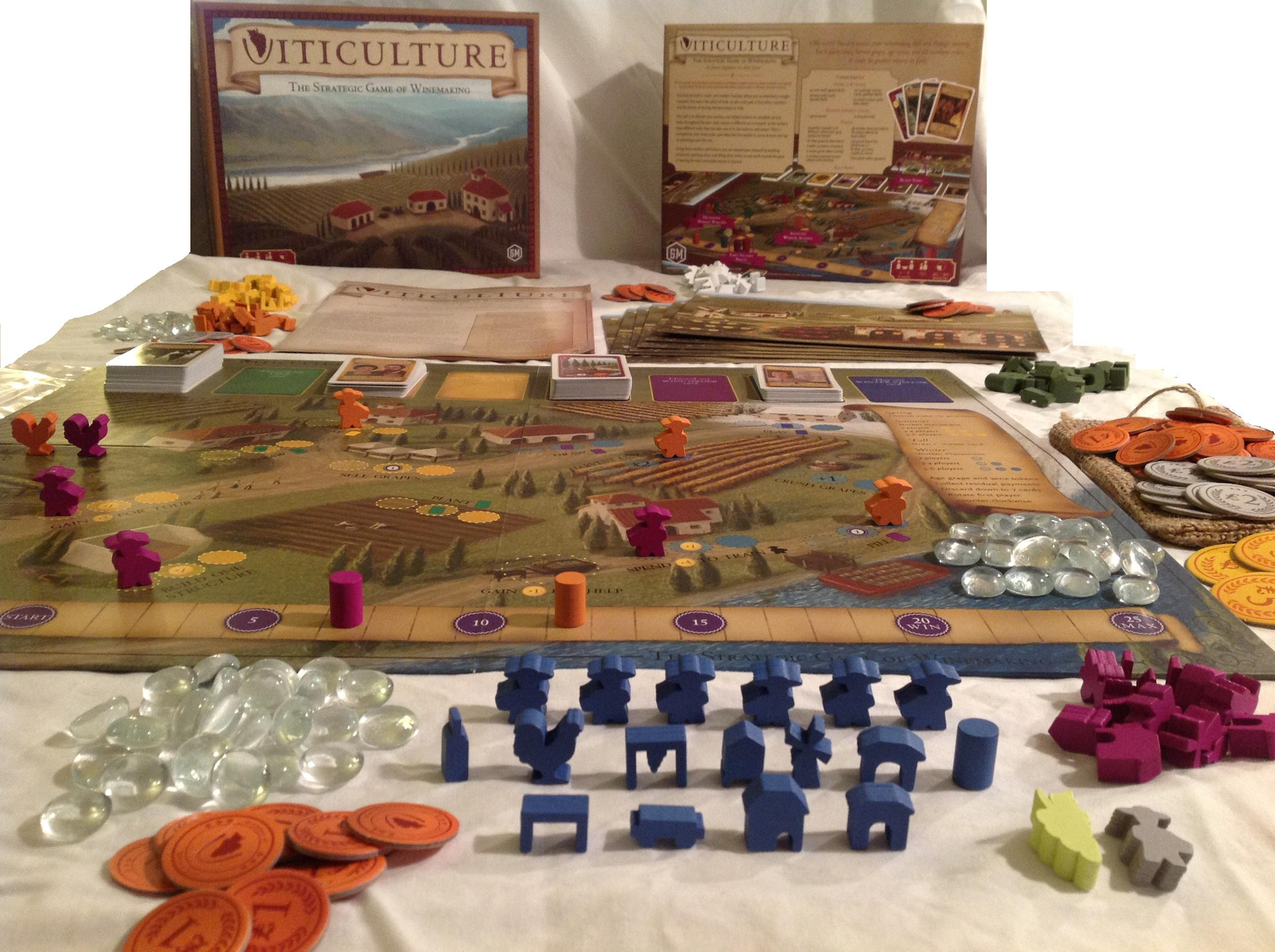 Viticulture Stonemaier Games