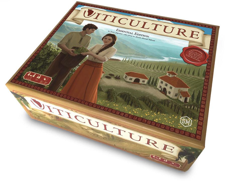 Viticulture 3D Box