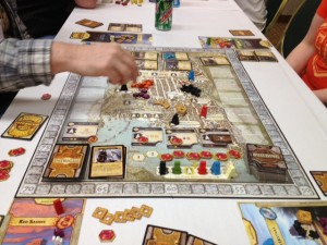 Learning Lords of Waterdeep at Geekway