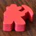Curved Pick Ax Meeple