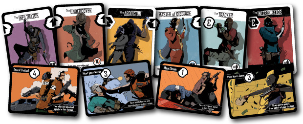 the agents cards