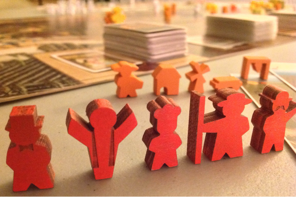 worker meeples final prototype