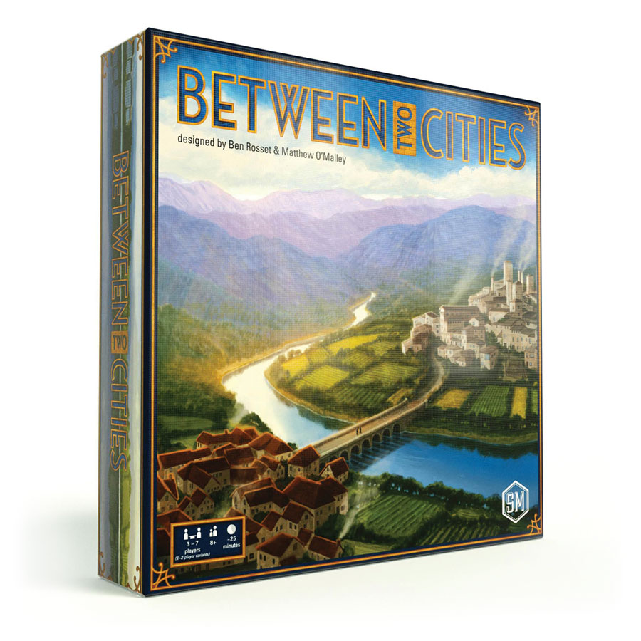 Between Two Cities 3D Box