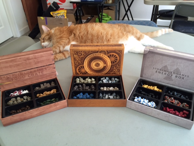 advance copies (cat not included)