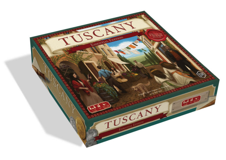 Tuscany Essential Edition -  Stonemaier Games