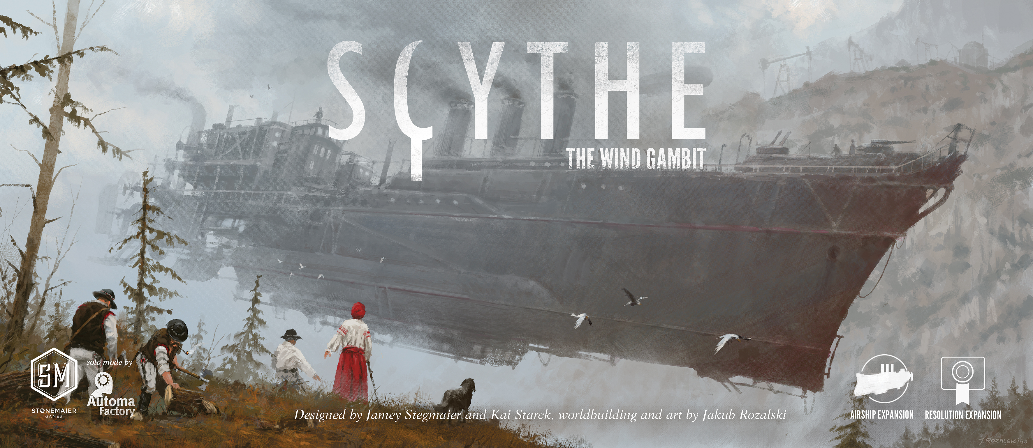 Image result for Scythe: The Wind Gambit board game
