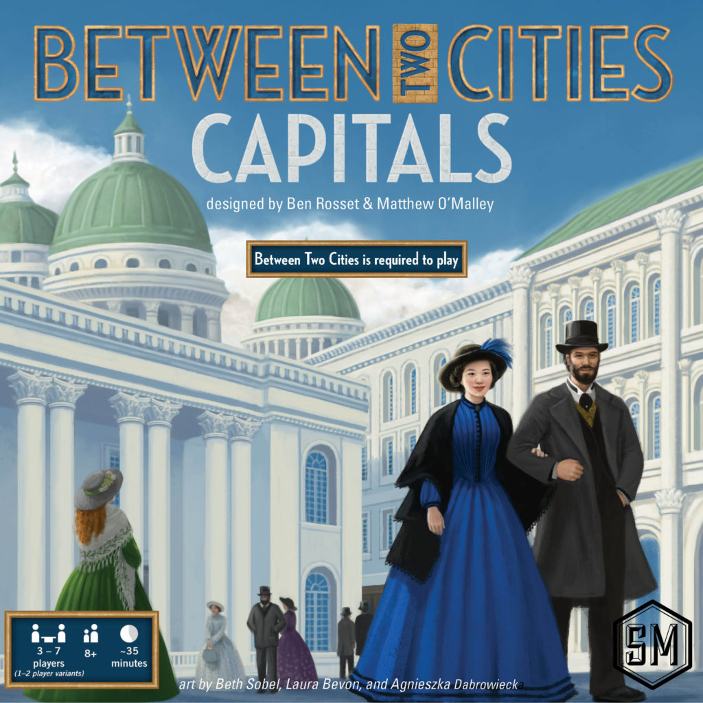 Between Two Cities Capitals Stonemaier Games - Capital cities of the world game
