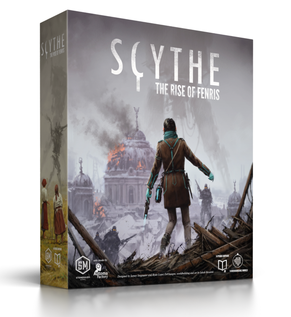 Image result for scythe rise of fenris
