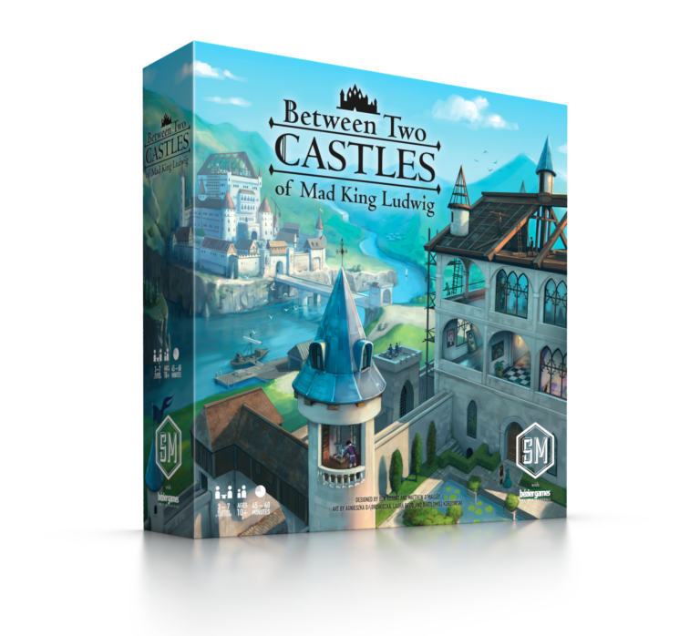 Between Two Castles of Mad King Ludwig (T.O.S.) -  Stonemaier Games