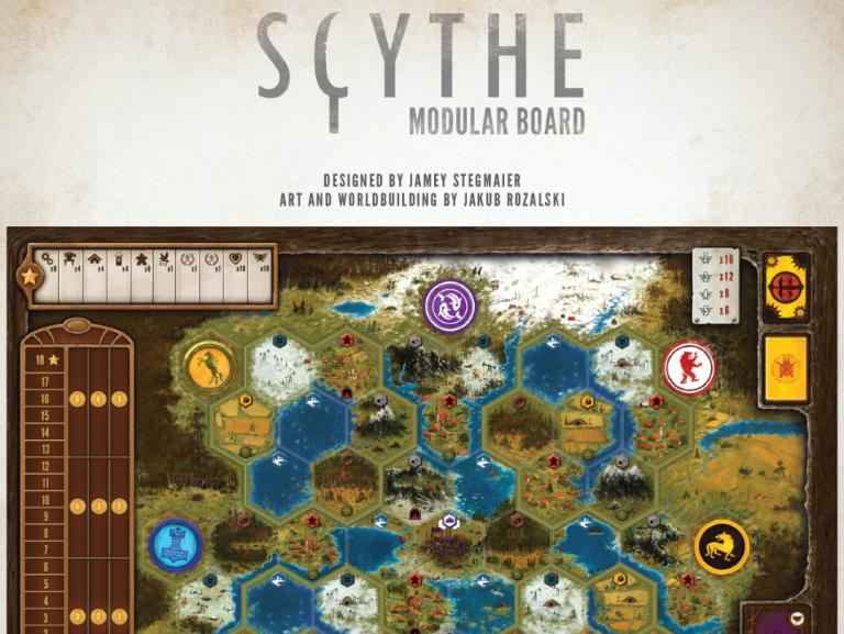 Scythe Modular Board - Stonemaier Games