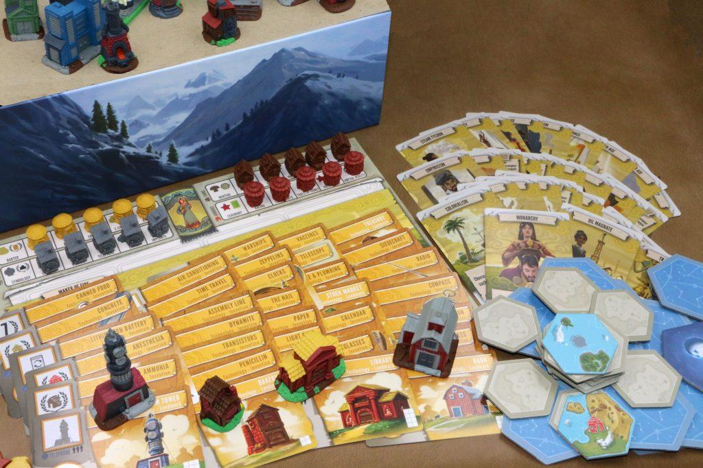 Afbeeldingsresultaat voor Tapestry boardgame